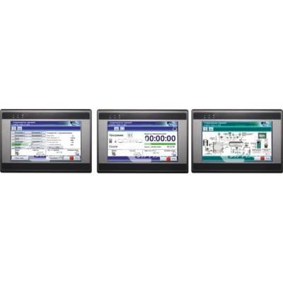 Цветная сенсорная панель управления и индикации (видеографическая панель)