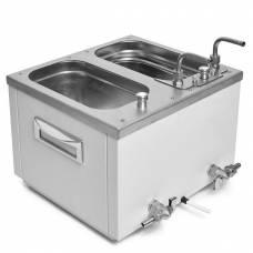 Водяная баня лабораторная ЛБ-57164 на 2 ванны