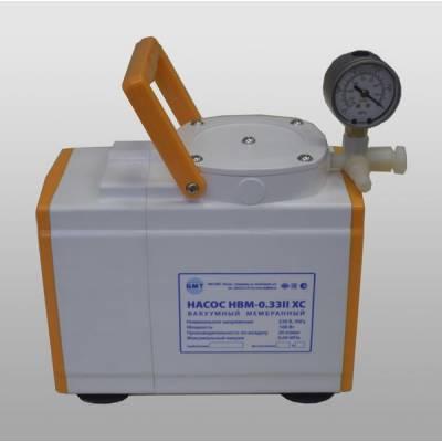 Вакуумный мембранный насос НВМ-0,33II ХС