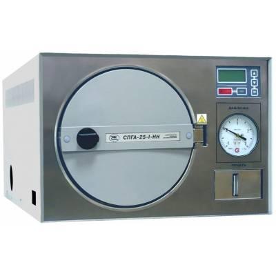 Стерилизатор паровой медицинский автоматический форвакуумный СПГА-25-1-НН